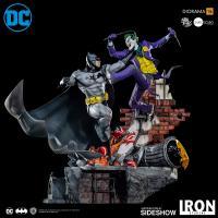 Gallery Image of Batman Vs The Joker Sixth Scale Diorama