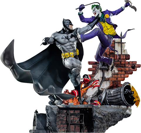 Iron Studios Batman Vs The Joker Sixth Scale Diorama