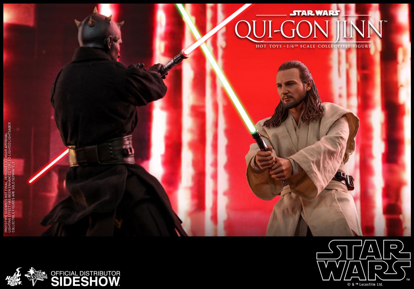Star Wars Qui-Gon Jinn Sixth Scale Figure by Hot Toys