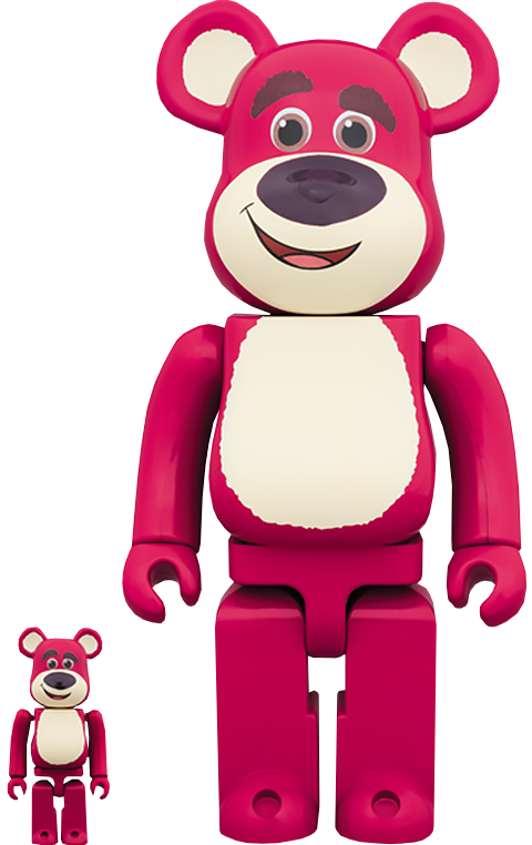 Medicom Toy Be@rbrick Lots-O'-Huggin' Bear 100% and 400% Collectible Set