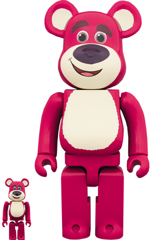 Be@rbrick Lots-O'-Huggin' Bear 100% and 400% Collectible Set