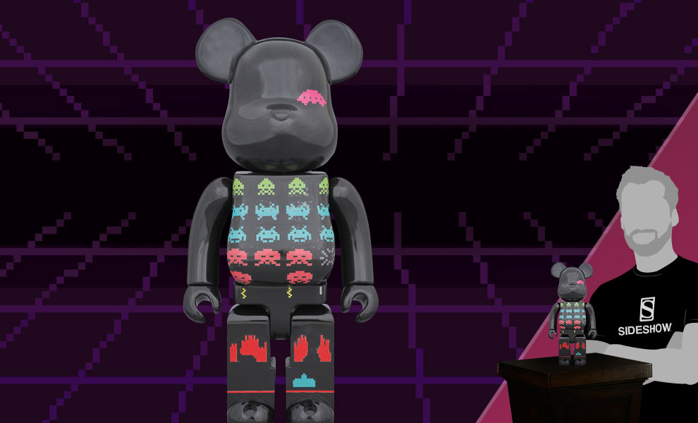 Gallery Feature Image of Be@rbrick Space Invaders 400% Figure - Click to open image gallery