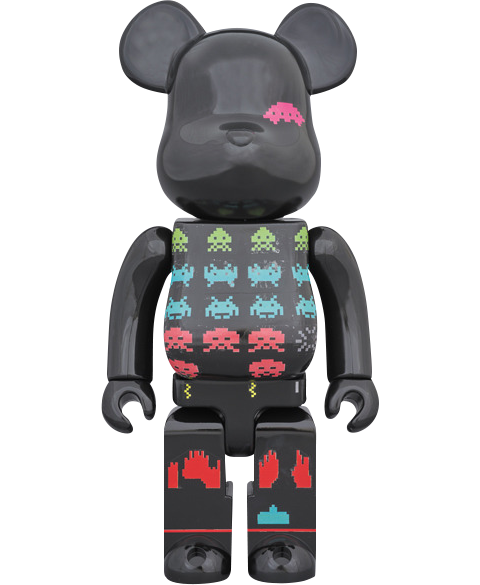 Medicom Toy Be@rbrick Space Invaders 400% Figure