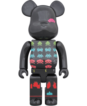 Be@rbrick Space Invaders 400% Figure