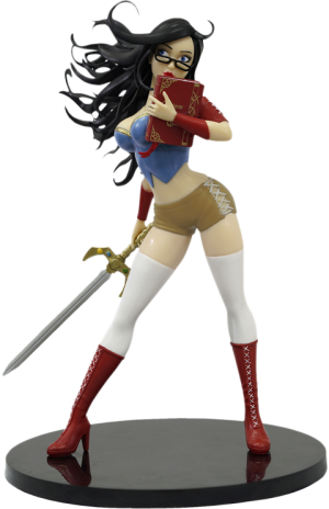 Sela Mathers (Snow White) Statue