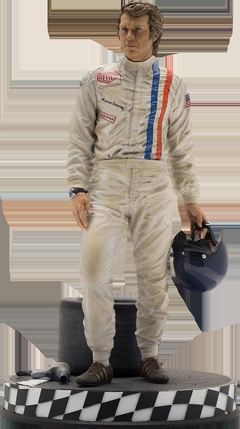Infinite Statue Steve McQueen Statue