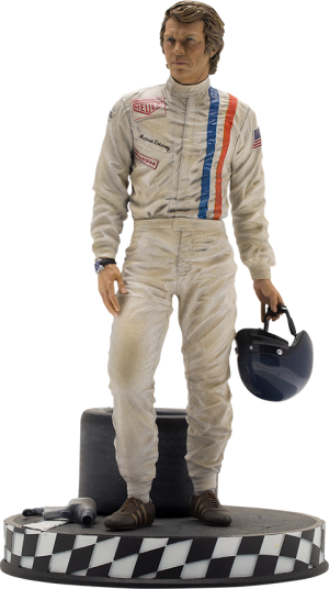 Steve McQueen Statue