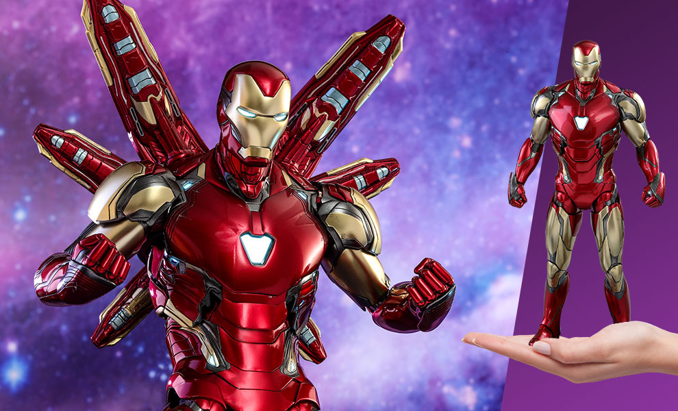 Gallery Feature Image of Iron Man Mark LXXXV Sixth Scale Figure - Click to open image gallery