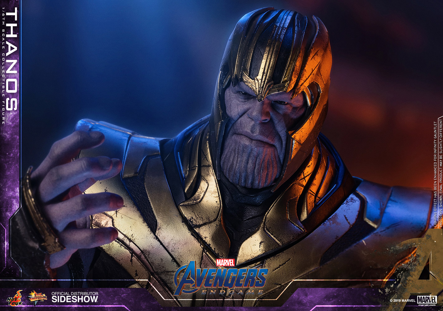 Marvel Thanos Sixth Scale Figure By Hot Toys Sideshow Collectibles