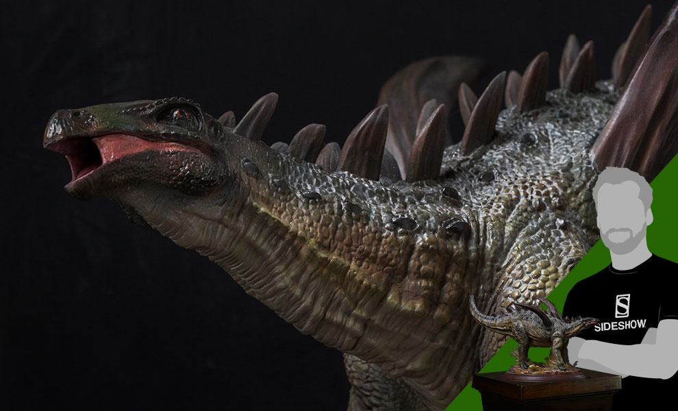 Gallery Feature Image of Gigantspinosaurus Statue - Click to open image gallery