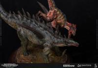 Gallery Image of Gigantspinosaurus and Inner Mongolia Velociraptor Statue