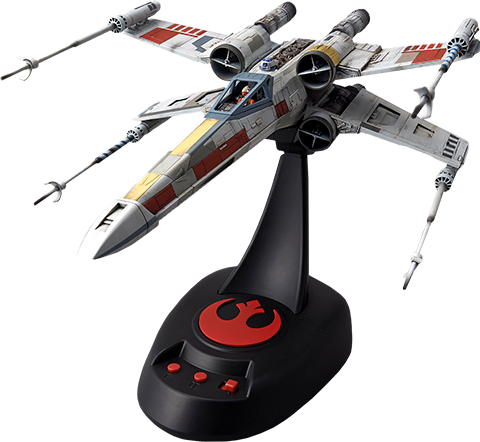 Bandai X-Wing Starfighter Moving Edition Plastic Model Model Kit