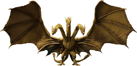 Bandai King Ghidorah Collectible Figure