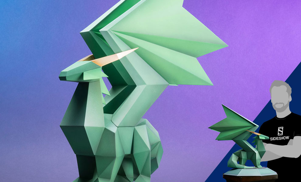 Gallery Feature Image of Spyro Crystal Dragon Statue - Click to open image gallery