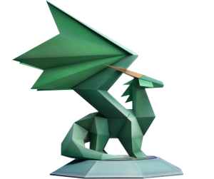 Spyro Crystal Dragon Statue