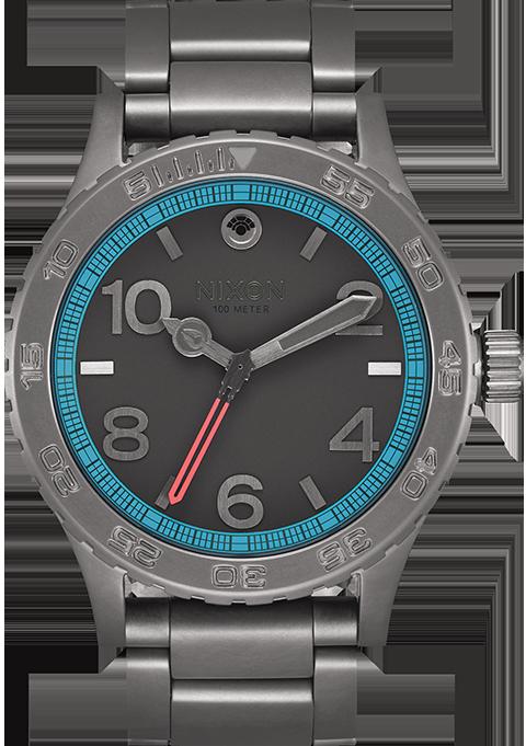 Nixon Millennium Falcon Gunmetal 46SW Watch Jewelry
