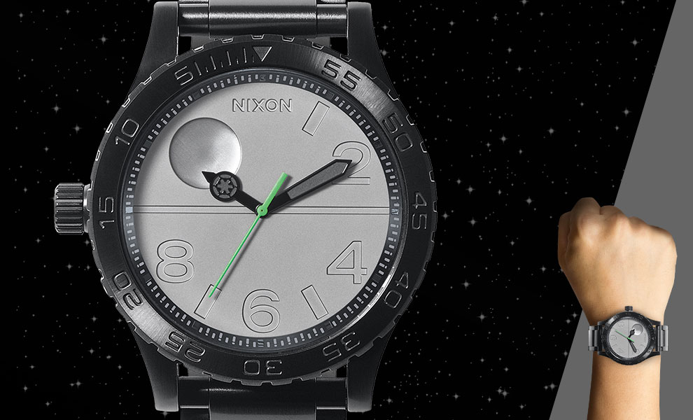 Gallery Feature Image of Death Star Black 51 30SW Watch Jewelry - Click to open image gallery