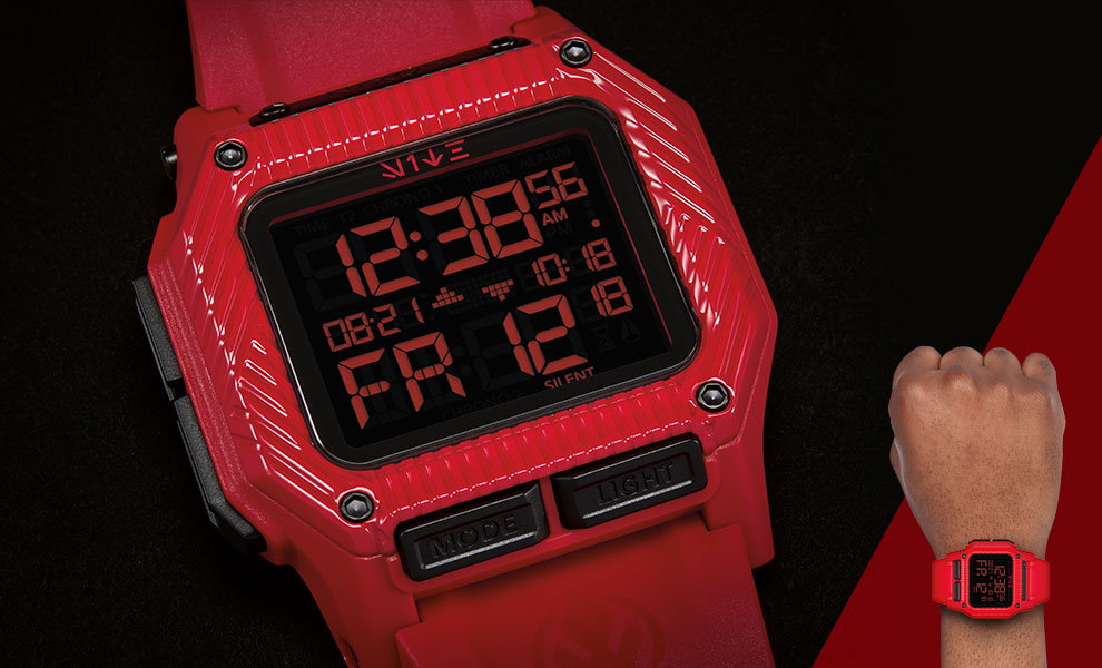 Gallery Feature Image of The Regulus Red Trooper Watch Jewelry - Click to open image gallery