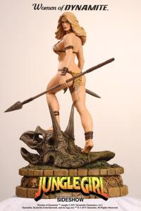 Gallery Image of Jungle Girl Diamond Eye Artist Proof Statue