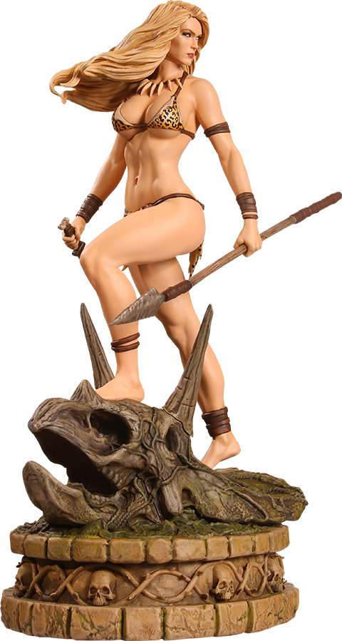 Dynamite Entertainment Jungle Girl Diamond Eye Artist Proof Statue