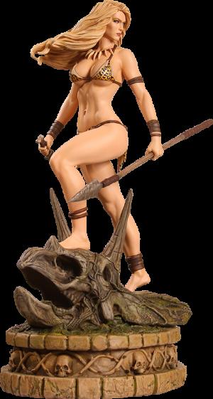Jungle Girl Diamond Eye Artist Proof Statue