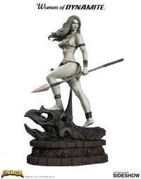 Gallery Image of Jungle Girl Black & White Statue