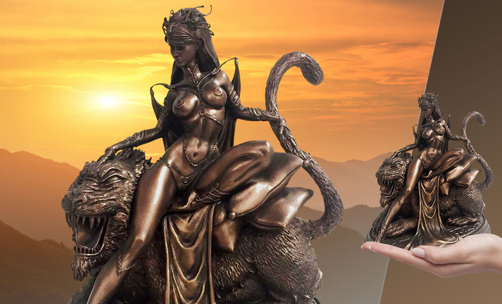 Gallery Feature Image of Dejah Thoris Bronze Statue - Click to open image gallery