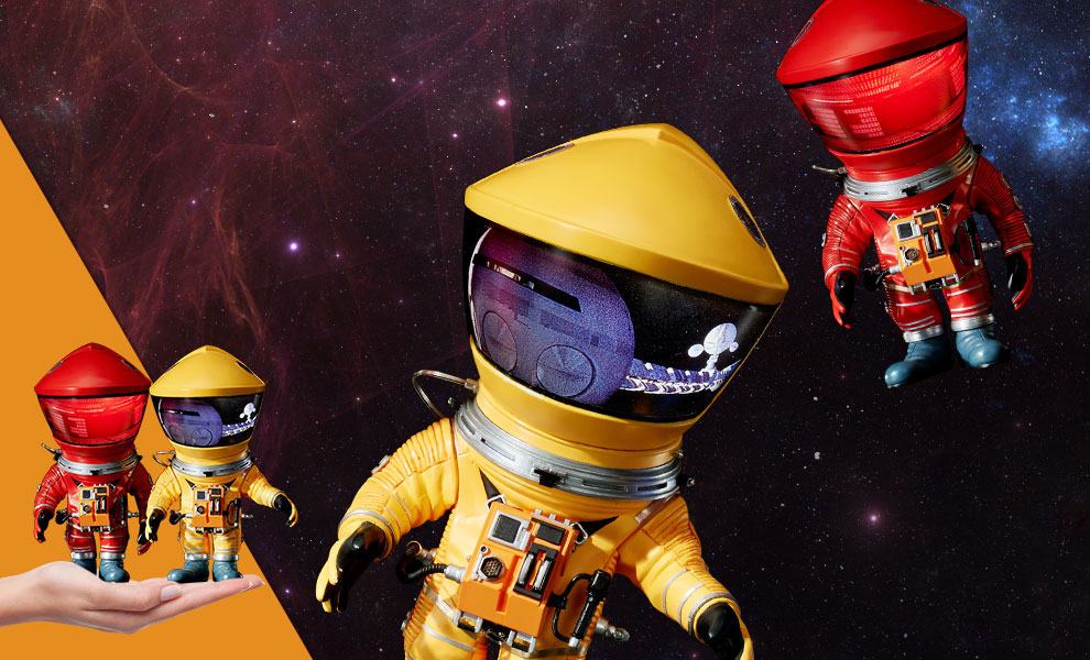 Gallery Feature Image of Discovery Astronaut (Red & Yellow Twin Pack) Vinyl Collectible - Click to open image gallery