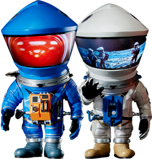 Discovery Astronaut (Silver & Blue Twin Pack) Vinyl Collectible