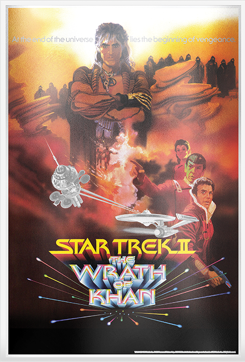 New Zealand Mint Star Trek II: The Wrath of Khan Silver Foil Silver Collectible