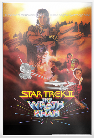Star Trek II: The Wrath of Khan Silver Foil Silver Collectible