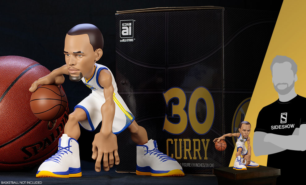 Gallery Feature Image of Stephen Curry SmALL-Stars Collectible Figure - Click to open image gallery