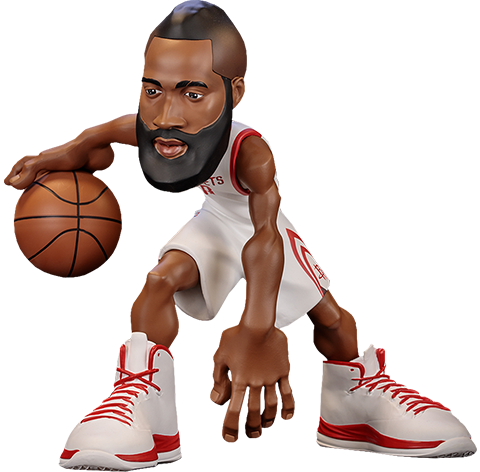 ICONai James Harden SmALL-Stars Collectible Figure
