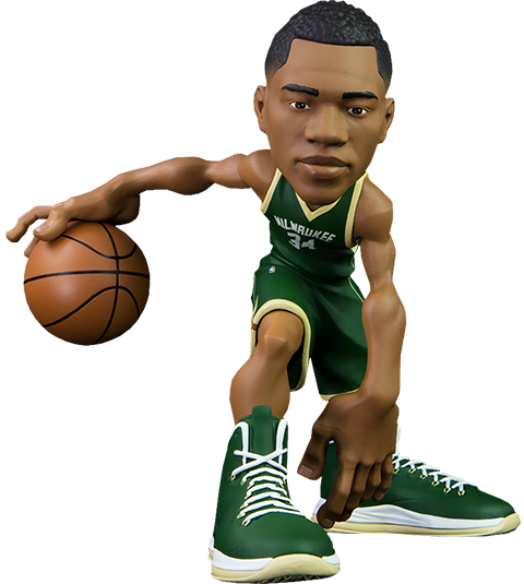 ICONai Giannis Antetokounmpo SmALL-Stars Collectible Figure