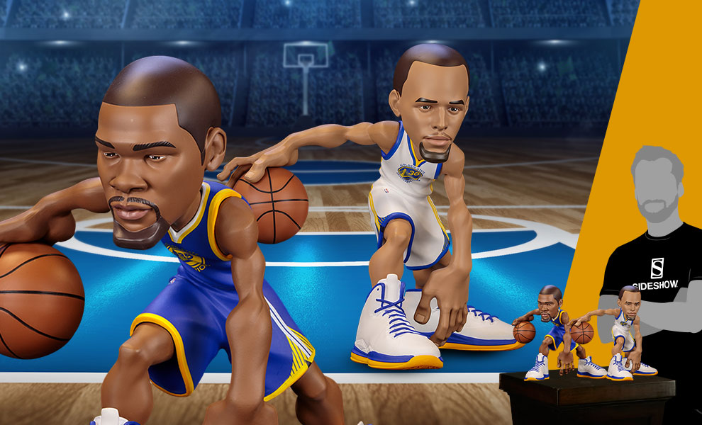 Gallery Feature Image of Stephen Curry and Kevin Durant SmALL-Stars Collectible Set - Click to open image gallery