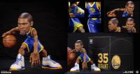 Gallery Image of Stephen Curry and Kevin Durant SmALL-Stars Collectible Set