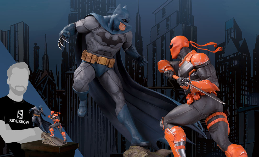 Gallery Feature Image of Batman VS Deathstroke Statue - Click to open image gallery