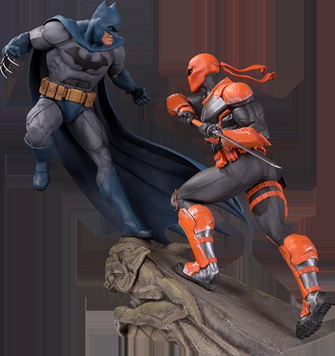 DC Collectibles Batman VS Deathstroke Statue