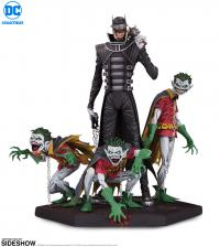 Gallery Image of The Batman Who Laughs & Robin Minions Deluxe Statue