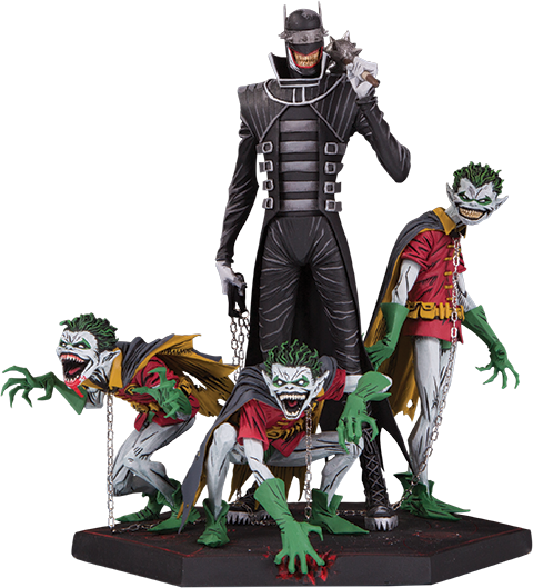 DC Direct The Batman Who Laughs & Robin Minions Deluxe Statue
