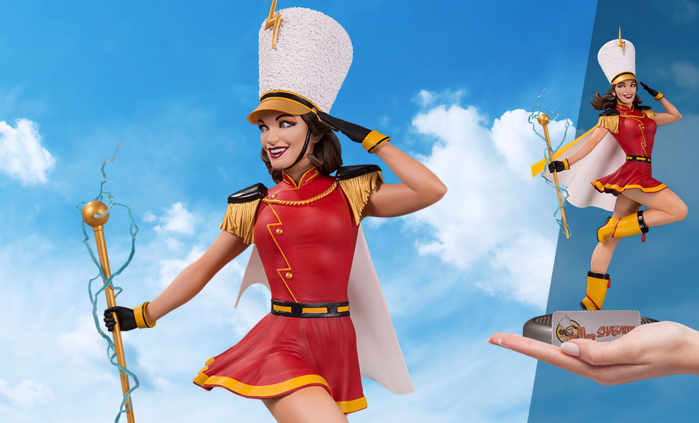 Gallery Feature Image of Mary Shazam! Statue - Click to open image gallery