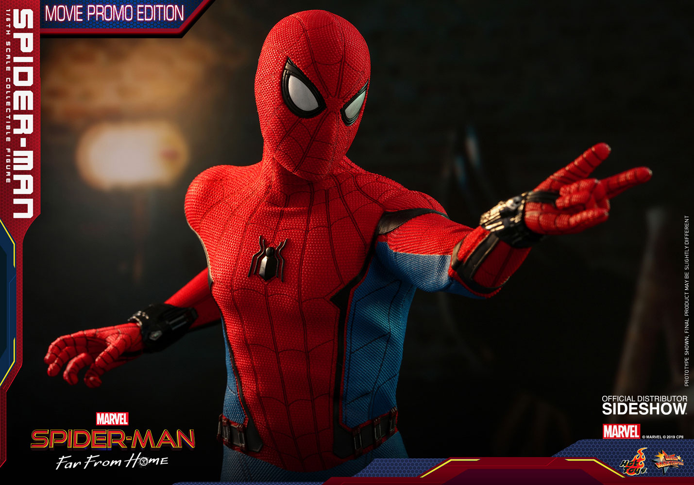 Spiderman 1 6 Scale Figure Movie Edition Sideshow Collectibles