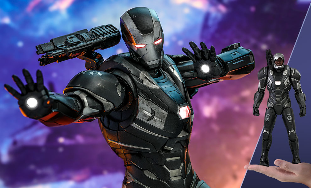 Gallery Feature Image of War Machine Sixth Scale Figure - Click to open image gallery