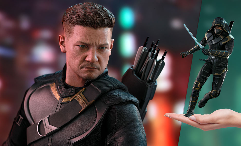 Gallery Feature Image of Hawkeye (Deluxe Version) Sixth Scale Figure - Click to open image gallery