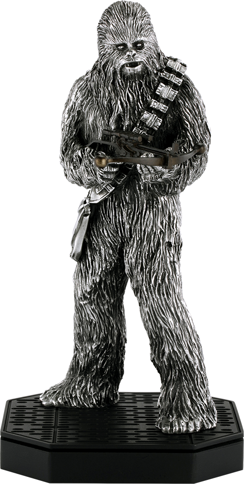 Royal Selangor Chewbacca Figurine Pewter Collectible