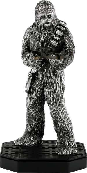 Chewbacca Figurine Pewter Collectible