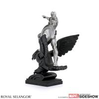 Gallery Image of Captain America Resolute Figurine Pewter Collectible