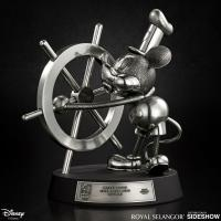 Gallery Image of Mickey Mouse Limited Edition Steamboat Willie Figurine Pewter Collectible