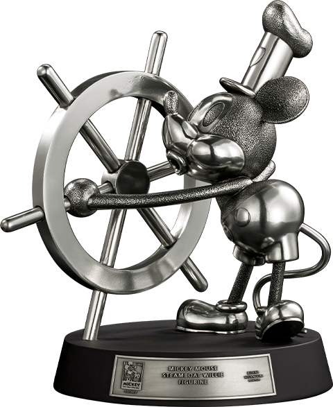Royal Selangor Mickey Mouse Limited Edition Steamboat Willie Figurine Pewter Collectible