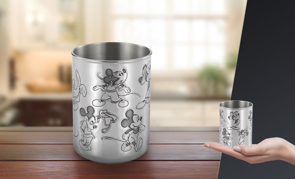 Gallery Feature Image of Mickey Through the Ages Tumbler Mug - Click to open image gallery